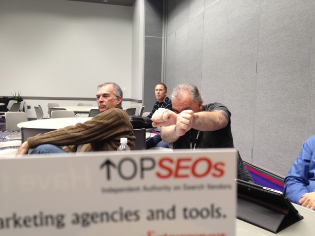 Alan share his views about Top SEOs Pubcon Vegas 2011