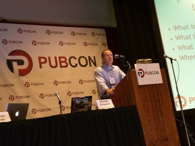 Michael Dourasch Speaking at Pubcon Vegas 2011