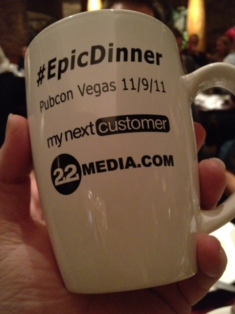 Epic Dinner Pubcon Vegas 2011 Mugs