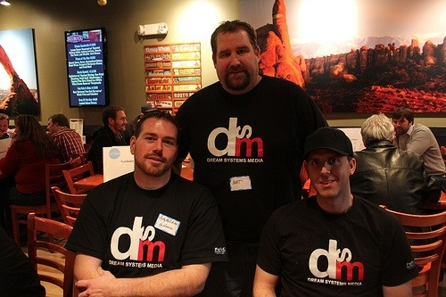 Dream Systems Media Team Matt Siltala, David Mink & Andy Melchior