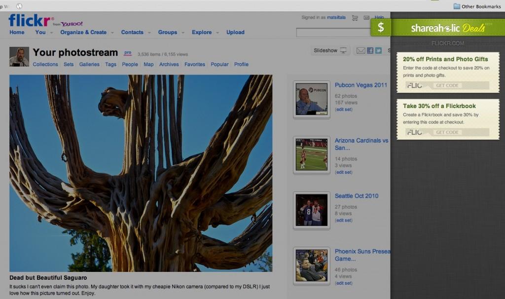 Flickr Deals