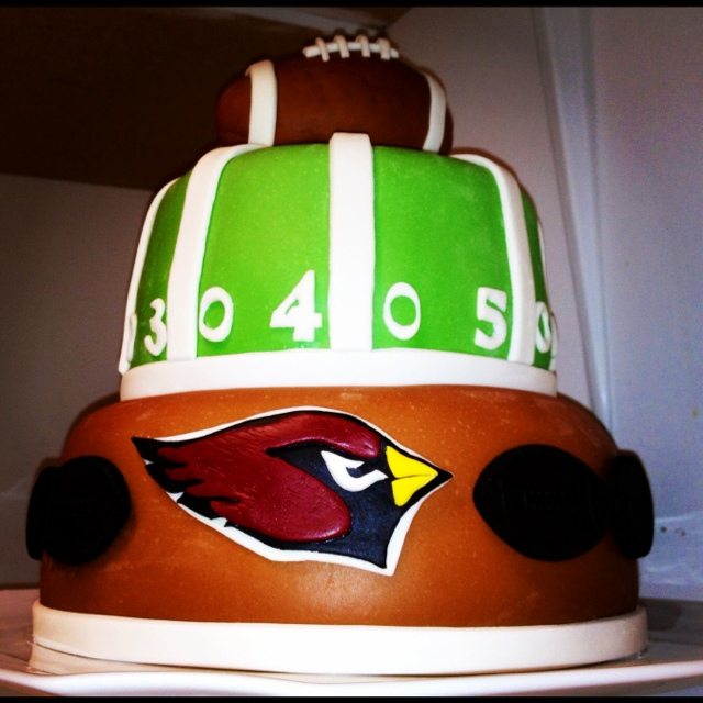 Arizona Cardinals Cake