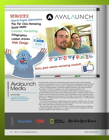 Avalaunch Media featured in Utah Business Quarterly